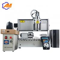 Quality On sale mini metal cnc engraving machine Small 4th axis 3040 cnc router machine with usb port for sale