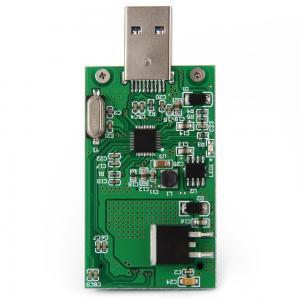 Buy cheap SA -167 Electronic Circuit Board Assembly Mini PCI-E mSATA to USB 3.0 External SSD PCBA Conveter Card product