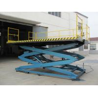 Buy cheap Mobile flexible telescopic Electric Lifting Platform , Self propelled Scissor Lifts product