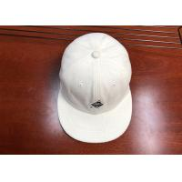 Buy cheap Velvet Embroidery Printing Logo Plain Snapback Hat Polyester Composition Fabric product