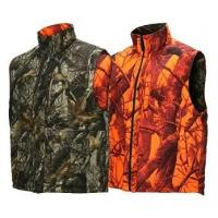 Buy cheap Shooting Waistcoat Orange Blaze Camouflage Hunting Vest Realtree Reversible Insulated Hunting Vest product