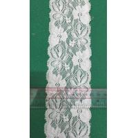 Buy cheap Elegant polyester lace, embroidery lace fabric chemical lace fabric micro fiber lace fabric 150cm product