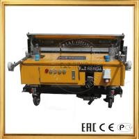 Buy cheap Automation Wall Plaster Rendering Machine For Gypsum Paster Construction Machinery product