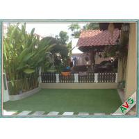 China Outdoor Sports Flooring Playground Synthetic Grass / Safety Artificial Turf For Gardens on sale