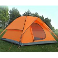 Buy cheap 180T Polyester Fabric Foldable Camping Tent For Outdoor Leisure Activities product