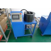 Buy cheap Rubber And Steel Material Hydraulic Hose Crimping Machine For Air Suspension Parts product