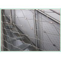 Buy cheap High Durability Balustrade Wire Mesh Infill For Indoor / Outdoor Protection product