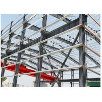 Buy cheap Fast Assembled Garage Steel Frame With C Purlin / Prefab Building Construction product