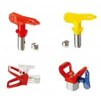 Buy cheap Blue / Red / Yellow / Black Spray Tips Airless Sprayer Accessories With OEM Service product