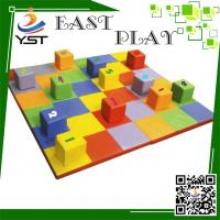 Buy cheap PVC Cover Indoor Soft Play Sponge , Foam Play Bricks ISO Certification product