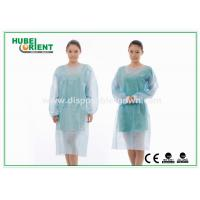 Buy cheap Sterile Reinforce SMS Disposable Isolation Gowns with Elastic Wrist product