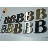 Buy cheap 3D Architectural - grade Stainless Steel Letters For Wall Shop Signs product