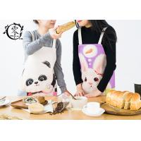 Buy cheap Custom Panda Rabbit Baby Kitchen Apron With Pockets Extra Long Ties Durable For Gardening product