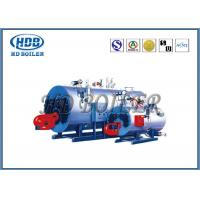 Quality Automatic Steam Hot Water Boiler Fire Tube With Gas Fired / Oil Fired for sale