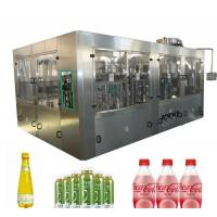 Buy cheap High Speed Carbonated Soda Filling Machine / Carbonated Drink Bottling Machine from wholesalers