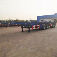 China 20 Foot Superlink Interlink Shipping Container Chassis on sale