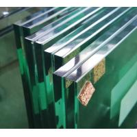 Buy cheap Durable 6.38 Clear Laminated Glass Sheets For Swimming Pools / Balcony Doors product