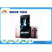 Buy cheap Gold 854x480P IPS 4.5 Inch Mobile Phones GSM Wifi Dual Sim Android Smartphone product