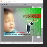 Buy cheap PSDTO3D 101 version Lenticular Software with powerful function for Lenticular Photo Design and 3D Lenticular Printing product