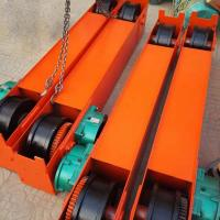 China 5Ton 10 Ton 15 Ton Overhead Crane End Beam End Carriage With Gear Motor on sale