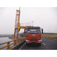 Buy cheap Truss Bridge Inspection Equipment FAW chassis 8x4 206KW 280HP , max span width 4m product