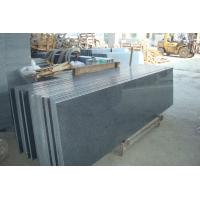 Buy cheap Natural Granite Stair Treads And Risers , Black Gray Granite Slabs For Stairs product