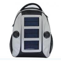 Buy cheap factory supply solar bicycle  bag,solar sport bag,backpack product