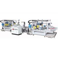 Buy cheap Electronic Glass Double Edging Machine , Straight Line Double Edger For Small Glass product