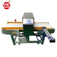 Buy cheap Conveyor Belt Food Metal Detection Machine With Push Rod Rejection Device product