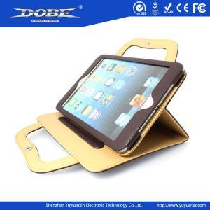 Buy cheap Handbag style protective multi-angel upstanding leather bag for iPad mini product