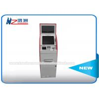 China Custom Hotel Wall Mount Card Dispenser Kiosk Wireless Connection All In One on sale