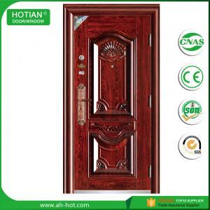 Buy cheap Latest Steel Apartment Entrance Door Metal Swing Door Main Gate Design for Sale product