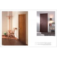 Buy cheap HS-17 Decorative Vertical Wooden Interior Doors, Modern Side Hinged Doors Factory For Bedroom, Office product