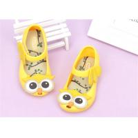 Buy cheap Ankle Strap Little Kids Shoes Baby Girl Sandals With Lovely Owl Bird Decorations product