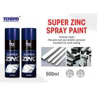 Buy cheap Lead Free Zinc Galvanizing Spray For Steel Rust Protection And Corrosion Inhibition product