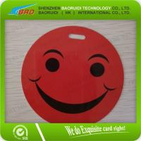 Buy cheap brand laminating pouch Smiley luggage tag product