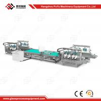 Buy cheap CE Approval Solar Panel Production Line Glass Straight Line Double Edging Machine product