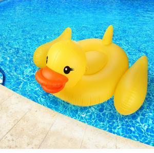Yellow Duck Pool Raft Huge 80