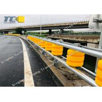 Buy cheap High Intensity Safety Roller Barrier For Road Traffic Highway / Channel product