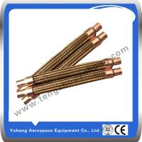 Buy cheap Copper corrugated hose,Brass braided hose,Flexible Hose product