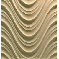 Buy cheap 3D Cnc Artificial Stone Wave Panel product