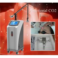 China Multifunctional high quality vertical 30W fractional CO2 laser machine for sale wholesale