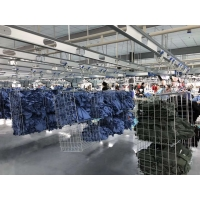 Buy cheap High Quality Clothing Intelligent Production Line Hanging assembly line in garment factory product