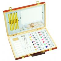 Buy cheap Professional Childrens Art Set Wooden Box , Durable Artist Acrylic Paint Box Set product