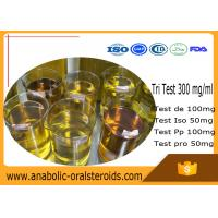 Buy cheap Tri Test 300 mg/ml Compound Injectable Anabolic Steroids Oil Liquid for Bodybuilding product