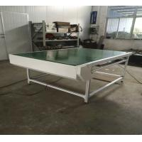 Buy cheap Small Green PVC Conveyor Belt System For Cosmetic Products Manufacturer from wholesalers