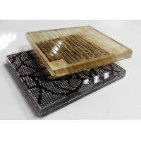 Buy cheap Multi Pattern Acid Etched Glass , Figured Textured Fabric Laminated Glass product
