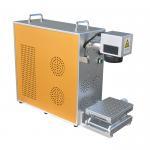 China 30w gold letters fiber laser marking machine wholesale