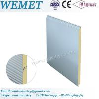 Buy cheap 500-1000MM width PU/PIR fire proof insulated wall panel for steel structure building product