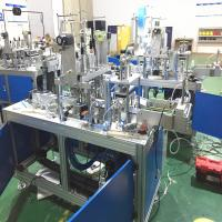 Buy cheap Full Automatic Face Mask Production Line With 1 To 2 Style from wholesalers